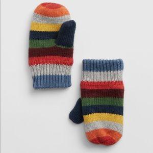 GAP Toddler Crazy Stripe Mittens
